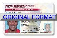 New Jersey Fake ID