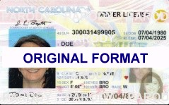 scannable fake north carolina id cRDS