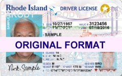 RHODE ISLAND DRIVER LICENSE ORIGINAL FORMAT, DESIGN SPECIFICATIONS, NOVELTY SECURITY CARD PROFILES, IDENTITY, NEW SOFTWARE ID SOFTWARE RHODE ISLAND driver